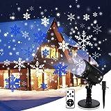 Tofu Proiettore Luci Natale,Natale la Luce del Led Con Telecomando,per la Lampada di Proiezione Esterno Impermeabile IP65 per