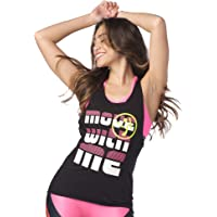 Zumba Dance Fitness Workout Muscle Tank Tops For Women Breathable Active Gym Top
