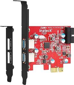 Inateck 2 Port Pci E Usb 3 0 Express Card Mini Pci E Computers Accessories