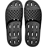 Womens Anti-Slip Slippers Quick-Drying Bathroom Shower Slippers Massage Slippers Casual Comfortable Pool Beach Slides Summer