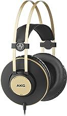 AKG K92 - Cuffia Chiusa, Colore: Nero opaco/Oro