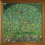 Berkin Arts Klassisch Rahmen Gustav Klimt Giclée Leinwand Prints Gemälde Poster Reproduktion(Apfelbaum)