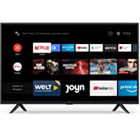 Xiaomi Mi Smart TV 4A 32 Zoll (HD LED Smart TV, Triple Tuner, Android TV 9.0, Fernbedienung mit Mikrofon, Amazon Prime…