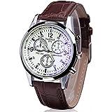 Yazole Sport Watch For Men Analog Leather - 271