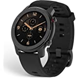 Amazfit A1910 GTRWater Resistant Smart Watch with AMOLED display, 12 Sports Modes and Silicone Strap, 42 mm - Starry Black