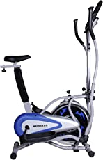 Hercules Fitness DC30 Dual Air Bike With Steel Wheel-Grey-2015