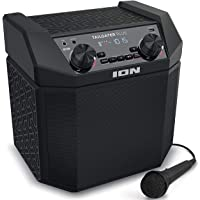 ION Audio Tailgater Plus - Bluetooth Lautsprecher Mobile Musikanlage mit Mikrofon, Radio, wiederaufladbarem Akku, 50…