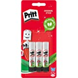Pritt Glue Stick, Safe & Child-Friendly Craft Glue for Arts & Crafts Activities, Strong-Hold adhesive for School…