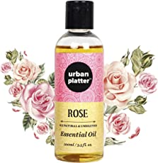 Urban Platter Rose Essential Oil, 100ml [All Natural & Undiluted]