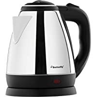 Butterfly EKN 1.5-Litre Electric Kettle (Silver with Black)