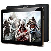10.1'' Inch Google android Tablet PC,PADGENE Android 8.1 Phablet Tablet Quad Core Pad with…
