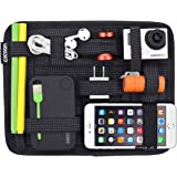 istore Electronics Cosmetics Tool Organizer Bag for ipad iPhone Tablet Accessories Pouch Non Slip Elastic Crossing…