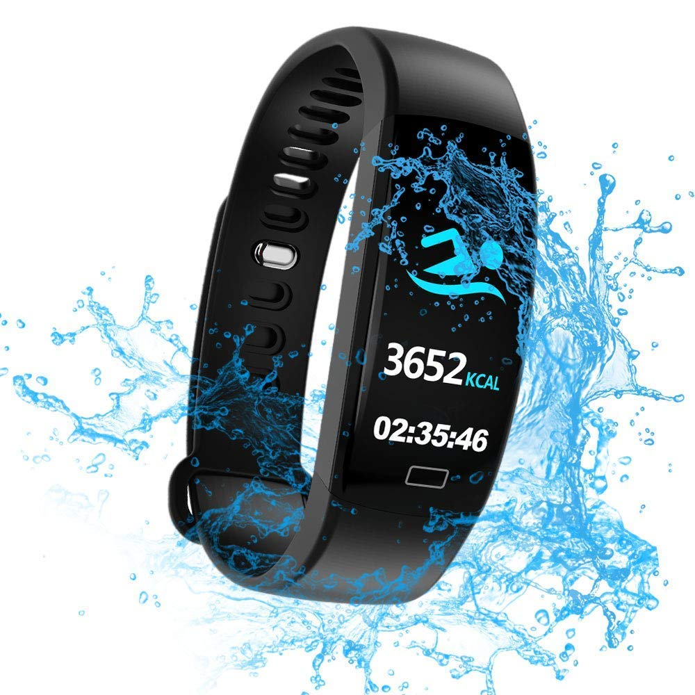 WitMoving Fitness Trackers IP68 - Reloj de Pulsera de Actividad con Contador de calorías y Pasos, podómetro, para niños… 1