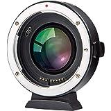 Viltrox EF-FX2 Autofokus Objektivadapter 0,71x Fokusreduzierer Speed Booster für Canon EF Mount Lens to Fuji X-Mount Mirrorless Camera X-T3 X-T2 X-T20 X-T10 X-T100 X-PRO2 X-E3 X-A20 X-A5 -MEHRWEG