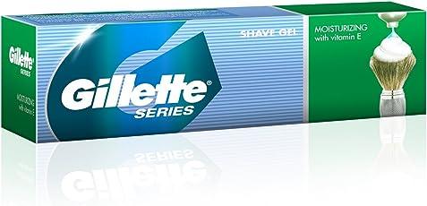 Gillette Series Moisturizing Shave Gel with Vitamin E - 60 g