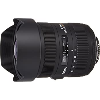 Sigma 12-24mm F/4.5-5.6 II DG HSM Zoom Lens for Nikon DSLR Camera
