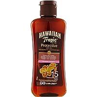 Hawaiian Tropic PROTECTIVE DRY OIL SPF 15, Formato Viaggio -100 ml