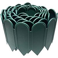 JonesHouseDeco Bordure de jardin en plastique PP flexible et décorative pour jardin, pelouse, parterre de fleurs, allée…