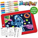 3D Magic Pad Kinder malen mit Magie Zaubertafel LED aus der TV Werbung