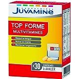 JUVAMINE - Top Forme Multivitamines - Aide à réduire la fatigue - Soutient l'immunité - 30 Comprimés à avaler - Fabrication F