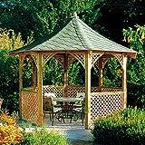 Jagram Holzpavillon