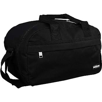 Ryanair Small Second Hand Luggage Travel Cabin Shoulder Flight Bag  35x20x20cm Fits Within 40x20x25 (Black) 5825a1dda8838