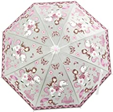 Li'll Pumpkins Pink Castle Umbrella
