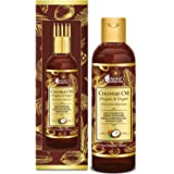 Oriental Botanics Organic Virgin Coconut Oil For Hair and Skin Care - With Comb Applicator - Pure Oil With No Mineral Oil, Si