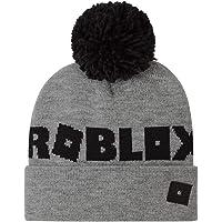 Roblox Cappello Bambino Invernale, Berretto Bimbo, Cappellino Grigio in Taglia Unica per Bambini e Ragazzi, Cappelli…