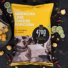 4700BC Sriracha Lime Cheese Popcorn Pouch, 75g (Pack of 2)
