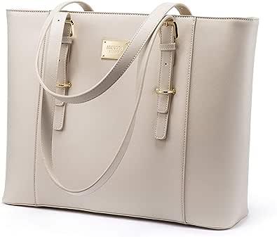 LOVEVOOK Laptop Tasche 14 15.6 Zoll Shopper Damen Groß Business Laptop Tasche Handtasche Damen Schultertasche für Interview/Arbeit/Geschäft/Hochschule