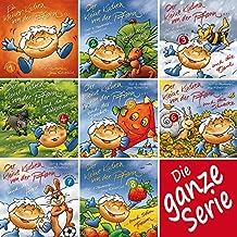 Der kleine Kuchen von der Pfann - Band 1-8: Die ganze Serie - kurze Bilderbuchgeschichten in Reimen über einen kleinen Pfannkuchen