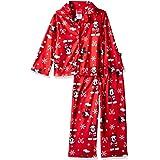 Disney Conjunto de pijama familiar de franela de Mickey Mouse para niños