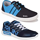 Earton Men's Running Shoes (Set of 3 Pairs)