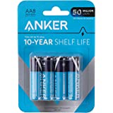 Anker Alkaline AA Batteries (8-Pack), Long-Lasting & Leak-Proof with PowerLock Technology, High Capacity Double A Batteries w