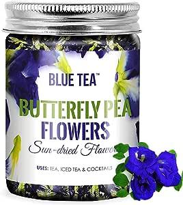BLUE TEA - Butterfly Pea Flower Tea - 50 Gram