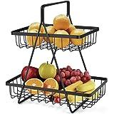 Corbeille de fruits corbeilles à fruits, corbeilles à pain, légumes, support de rangement pour cuisine Organisateur Collation