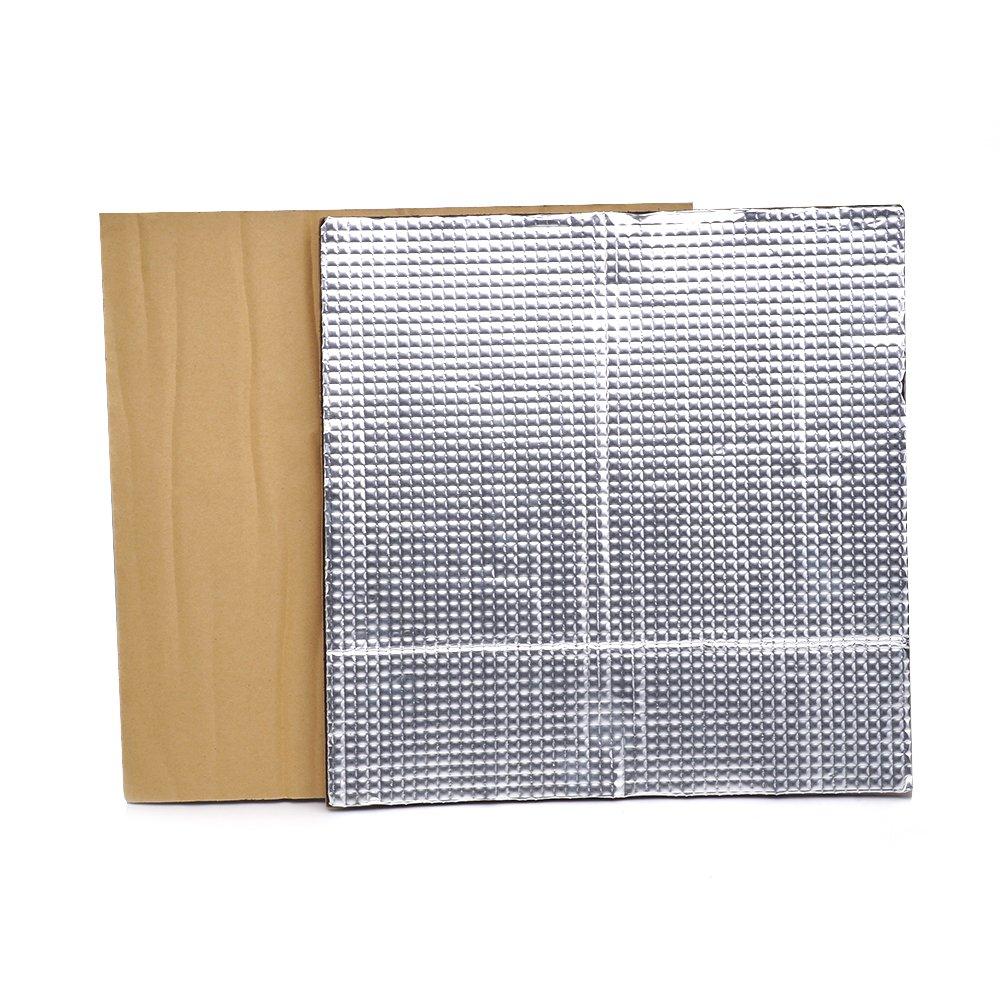 imprimante 3d pièces, plate-forme de Fysetc 30,5x 30,5x 0,8cm imprimante 3d chauffé Lit isolant en mousse légère Feuille Autocollant Tapis Isolation thermique pour serre Pad pour CR-10RepRap