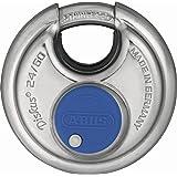 ABUS Diskus® hangslot 24IB/60 van roestvrij staal - met 360° bescherming rondom - voor beveiliging bij sterke weersomstandigh