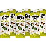 Yosoy Bebida de Arroz con Avellanas, Caja de 6 x 1L