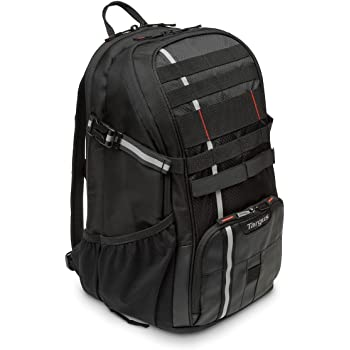 2e108e9857d Targus Work + Play Cycling 15.6-Inch Laptop Backpack, Black (TSB949EU)