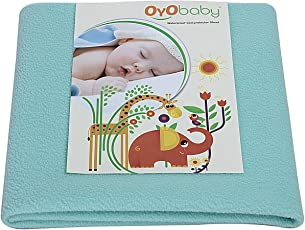 OYO Baby Waterproof Bed Protector for New Born Babies Large Size (140 cm X 100 cm)
