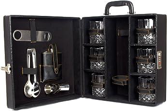 Black Butterfly Bar Tools Set ,Kitchen, Home, Bar - Mega Bar Accessories (Black)