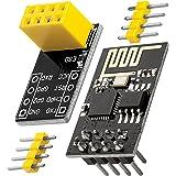 AZDelivery ESP8266-01S ESP-01S Modulo Wifi con adaptador Breadboard compatible con Arduino con E-Book Incluido!