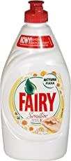 Fairy Dishwashing Liquid Active Suds - 450 ml (Chamomile and Vit E)