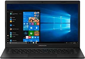 "MEDION E4251 - Ordenador portátil de 14"" FHD ( Intel Celeron N4000, 4 GB RAM, 64 GB eMMC, Intel UHD Graphics, Windows..."
