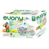 Evony Trendy Surgical Mask with Soft Elastic Ears, 50 Pieces