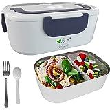 VOVOIR Lunch Box électrique de Voiture 12V / 220v 2 in1 Accueil Chauffage électrique Chauffe-Plats Chauffe-Repas pour la Cons