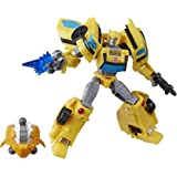 """Transformers Spielzeuge Cyberverse Deluxe-Klasse Bumblebee Action-Figur, Sting Shot Action Attacke und """"Build-A-Figure…"""