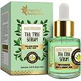 Oriental Botanics Australian Tea Tree Face Face Serum For Acne Prone & Oily Skin, No Sls, Silicone and Paraben, 20 ml